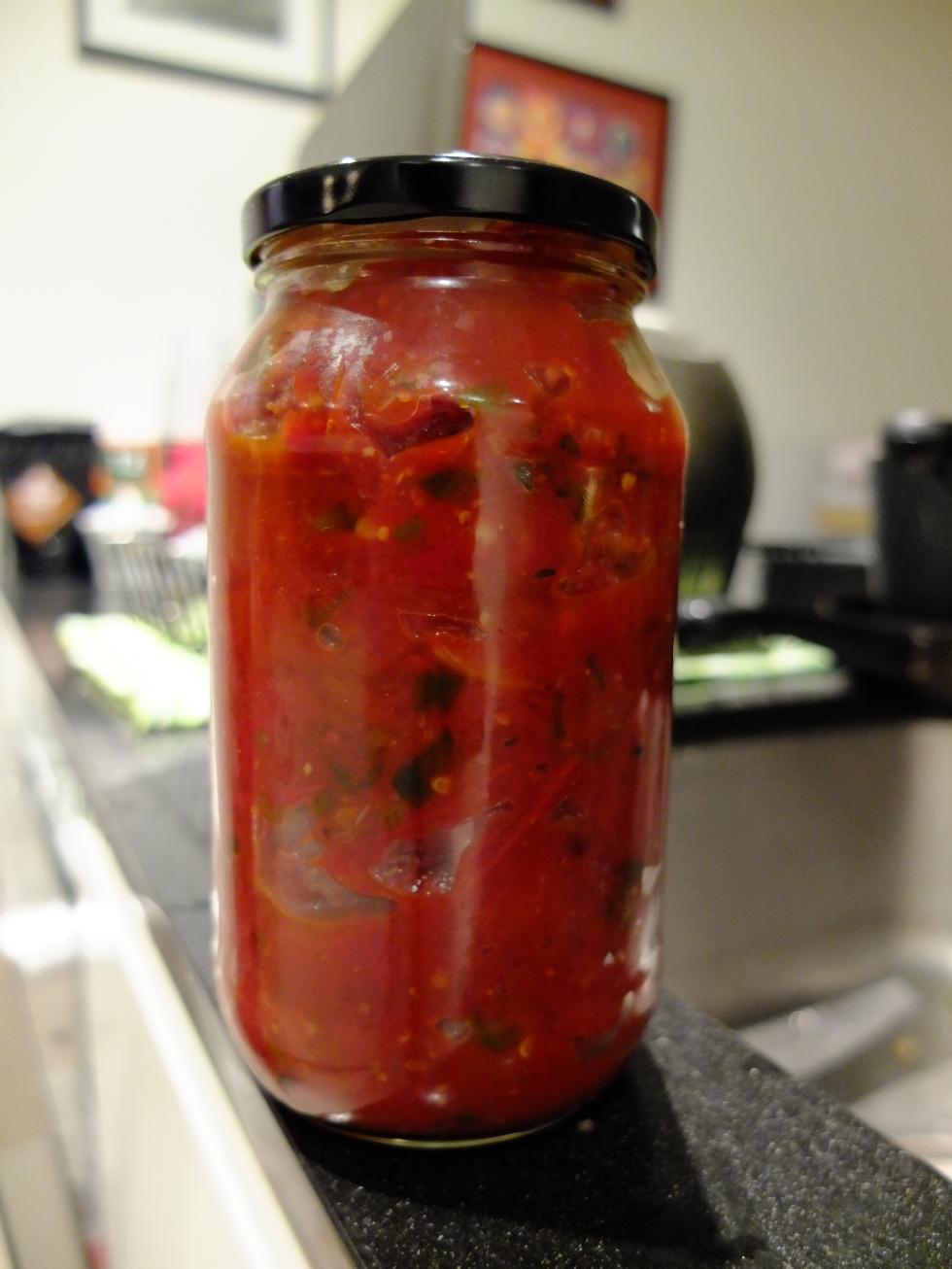 Spicy Tomato Relish