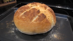 The first loaf - Plain White 25.03.12