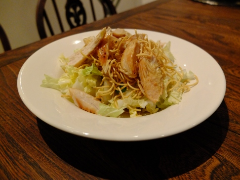 Wombok, Chicken and Crunchy Noodle Salad