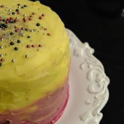 Vanilla Blackberry-Mascarpone Cake.