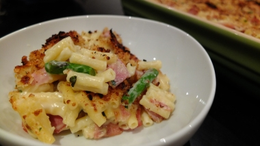 Pancetta and Pecorino Macaroni Cheese
