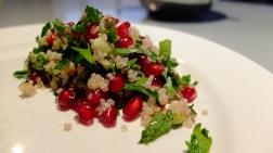 Pomegranate and Quinoa Tabouli