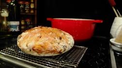 No-Knead Fruit Bread