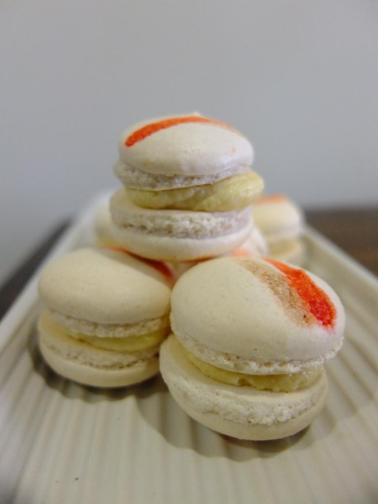 Vanilla Almond Macarons