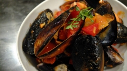 Mussels.